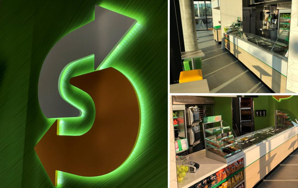 Turnkey - Restaurant - Subway - Rollout
