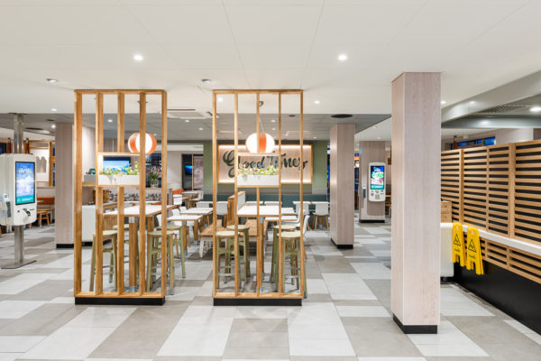 "ROL Fredbergs is proud to present the delivery of McDonald's in Västra Frölunda, Sweden. The restaurant is one of the first of its kind in Sweden with McDonalds' interior concept 'Natural Integrity'. It has been a very extensive and complex project and the result is a very fresh-looking and top modern restaurant with a focus on giving the customers the best possible experience. The project included refurbishing the roof, expanding the restaurant's dining room, replacing the ceiling, new flooring, replacing all the interiors and installing and expanding the restaurant's Digital signage and ordering system and renovating the kitchen. ""I think that I have got the nicest McDonald's restaurant in Sweden"" – says owner Ulf Ternström. Ulf has a long experience of running restaurants. He started his first restaurant in 1996 and today he owns 6 McDonald's restaurants. https://rolfredbergs.com/"