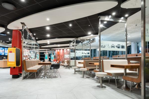 ROL Fredbergs McDonalds Arlanda Stockholm Restaurant Design 10